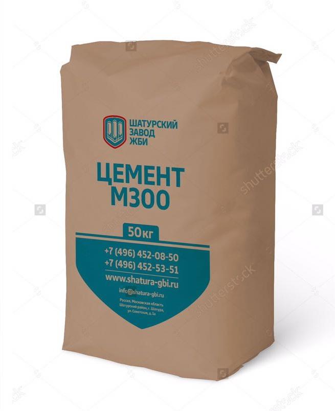 Шатурский завод ЖБИ Цемент М300 Д0